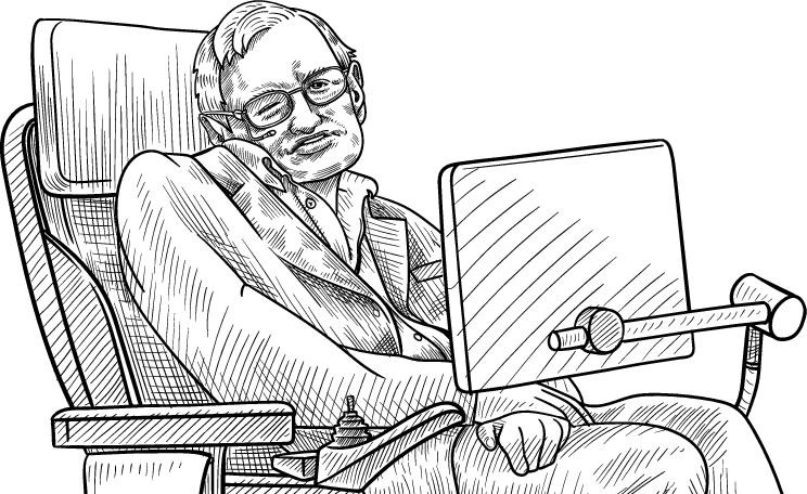 Stephen Hawking génie et marketeur de la communauté scientifique