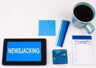 6 choses à savoir avant de se lancer dans le newsjacking